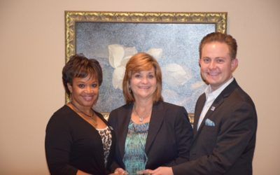 Natalie was awarded the United Way Citizen of the Year for 2015