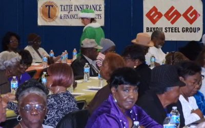 Tatje Insurance joined Sheriff Tregre in sponsoring the Annual Thanksgiving Luncheon